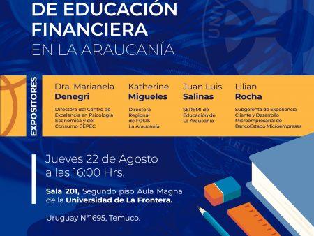 """Seminario """"Desafíos de la Estrategia Nacional de Educación Financiera"""""""
