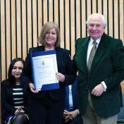 Investidura de Marianela Denegri como miembro capitular de la Academia Chilena de Ciencias Sociales, Políticas y Morales